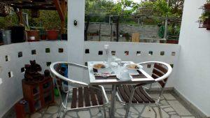 Kitchen-terrace